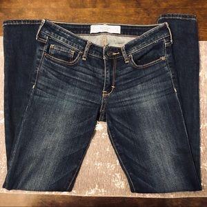 Abercrombie & Fitch Super Skinny Dark Wash Jeans